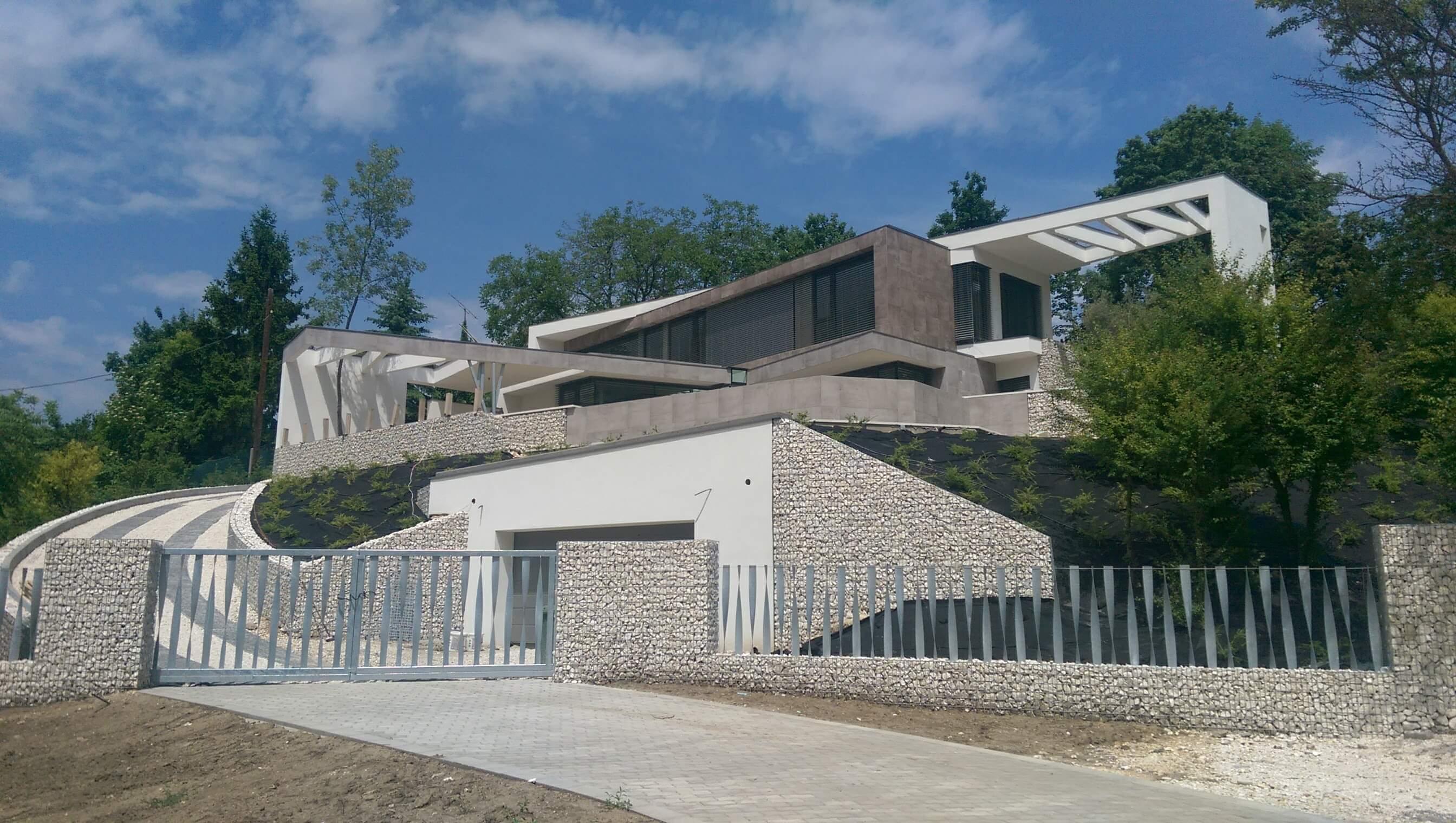 Családi ház minimal stílusban